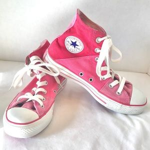 Converse Chuck Taylor Pink Color Block Sneakers 6